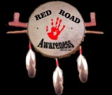 Red Road Drum van de AIM, American Indian Movement