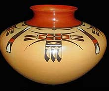 steve lucas eagle tail vase